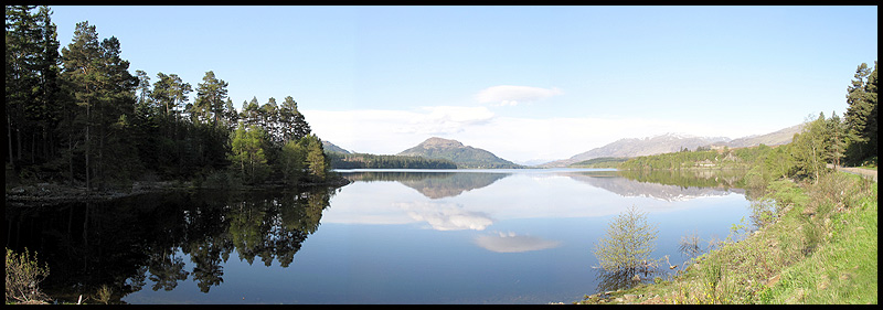 Reflections on Loch Laggan