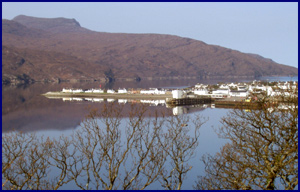 Ullapool across Loch Broom